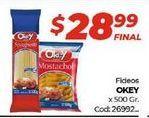 Oferta de Fideos Okey por $28,99