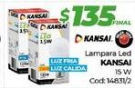 Oferta de Lámpara led kansai por $135