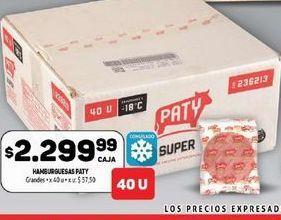 Oferta de Hamburguesas Paty  por $2299,99