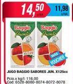 Oferta de Jugos Baggio por $14,5