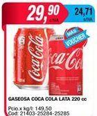 Oferta de Gaseosas Coca cola por $29,9