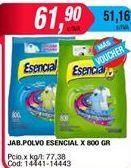 Oferta de Detergente en polvo Esencial por $61,9