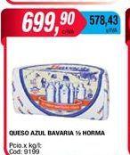Oferta de Queso azul Bavaria 1/2 horma por $699,9