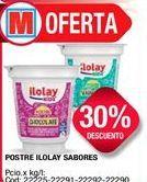 Oferta de Postres lácteos Ilolay por