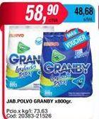 Oferta de Detergente en polvo Granby por $58,9