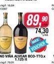 Oferta de Vino Viñas de Alvear por $89,9