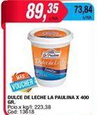 Oferta de Dulce de leche La paulina por $89,35