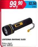 Oferta de Linterna Rayovac por $99,9