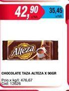 Oferta de Chocolate taza Alteza x 90gr  por $42,9