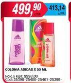 Oferta de Colonia Adidas x 50ml  por $499,9