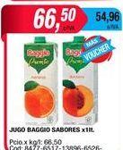 Oferta de Jugos Baggio por $66,5