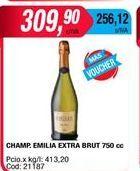 Oferta de Champagne Emilia por $309,9