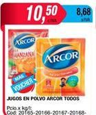 Oferta de Jugo en polvo Arcor por $10,5