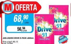 Oferta de Detergente líquido Drive por $68,9