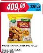 Oferta de Nuggets de pollo Granja del Sol por $409