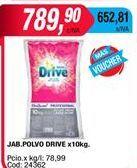 Oferta de Detergente en polvo Drive por $79,9