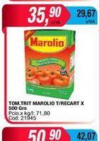Oferta de Tomate trit. Marolio t/recart x 500grs  por $35,9