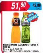 Oferta de Bebida isotónica Gatorade por $51,9