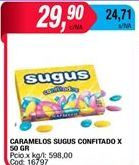 Oferta de Caramelos Sugus por $29,9