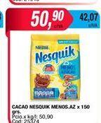 Oferta de Cacao Nesquik x 150grs por $50,9