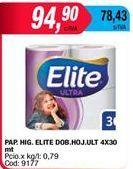 Oferta de Papel higiénico Elite por $94,9