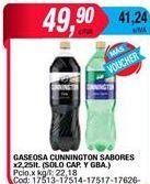 Oferta de Gaseosas Cunnington Style por $49,9