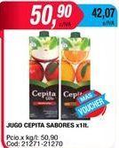 Oferta de Jugos Cepita por $50,9