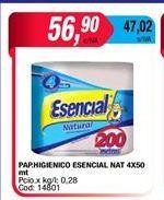 Oferta de Papel higiénico Esencial por $56,9