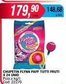 Oferta de Chupa Chups Flynn Paff por $179,9