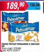 Oferta de Papas fritas Pehuamar por $189,9