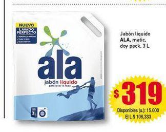 Oferta de Jabón líquido Ala por $319