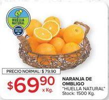 Oferta de Naranja de ombligo HUELLA NATURAL  por $69,9