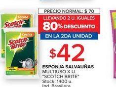 Oferta de Esponja salvauñas multiuso x u. SCOTCH BRITE  por $42