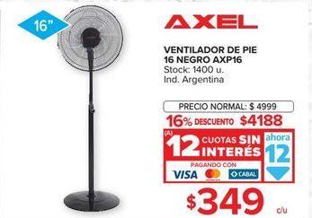 Oferta de Ventilador de pie Axel por $4188