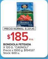 Oferta de Bondiola Cagnoli por $185