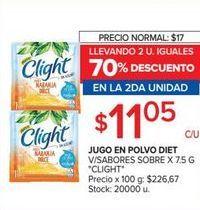 Oferta de Jugo en polvo Clight por $11,05