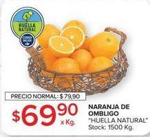 Oferta de Naranjas por $69,8