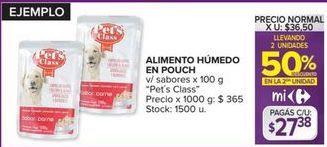 Oferta de Alimento para perros Pets Class por $27,38