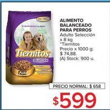 Oferta de Alimento para perros Tiernitos por $599