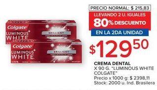 Oferta de Crema dental Colgate por $129,5