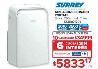 Oferta de Aire acondicionado Surrey por $34999