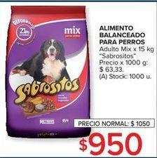 Oferta de Alimento para perros Sabrositos por $950