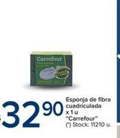 Oferta de Esponja de fibra cuadriculada x 1un CARREFOUR por $32,9