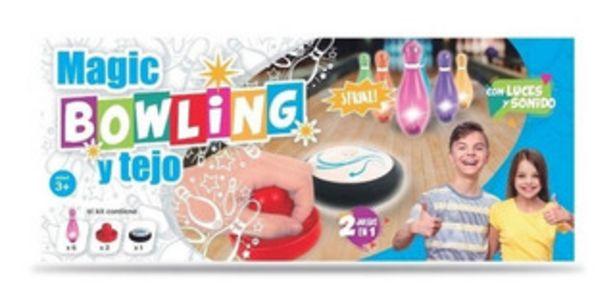 Oferta de Juego De Set Bowling Y Tejo Luminoso 2 En 1 En Creciendo por $2190