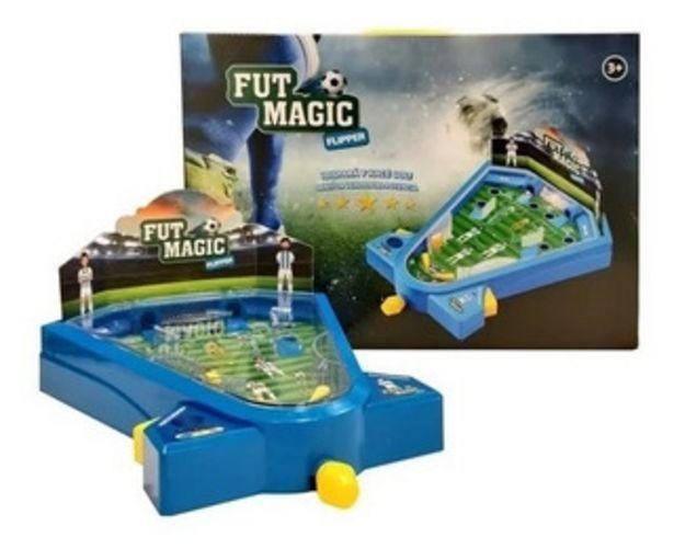 Oferta de Flipper Fut Magic Metegol Luces Sonidos Futmagic Jlt Ik0033 por $1890