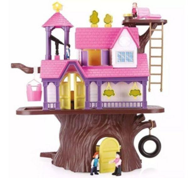 Oferta de Casa Del Arbol Casa De Muñecas Gigante Con Muebles Lionels por $5999
