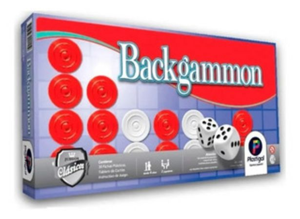 Oferta de Juego De Mesa Backgammon Plastigal 155 By Creciendo por $790