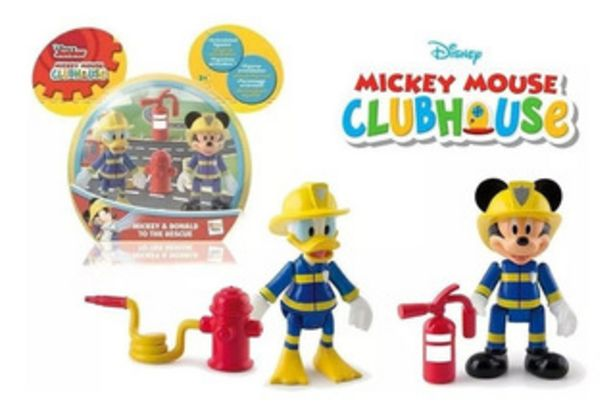 Oferta de Mickey 181908 Personajes De Bomberos 2 Figur por $750