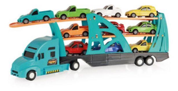 Oferta de Camion Transportador Con 10 Autos Xplast 2066 By Creciendo por $2590
