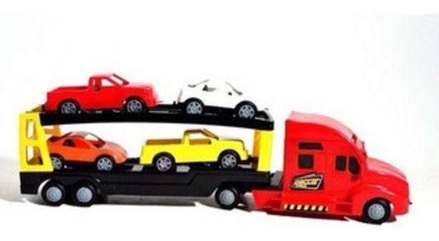 Oferta de Camion Transportador Con 4 Autos Xplast 2002 By Creciendo por $2199